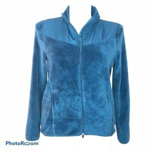 Danskin Zipup Fleece Jacket Size 16-18